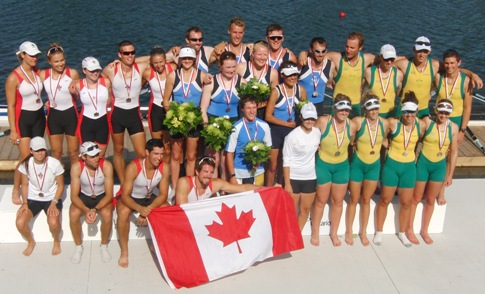 Image of the Commonwealth Rowing Championships