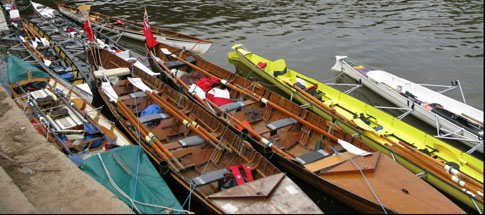 Recreational Boats at Worcester